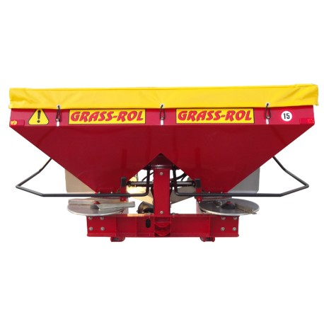 Twin disc fertilizer spreader MASTER 1000