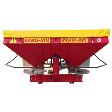 Twin disc fertilizer spreader MASTER 1000
