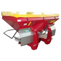 Twin disc fertilizer spreader MASTER 1200