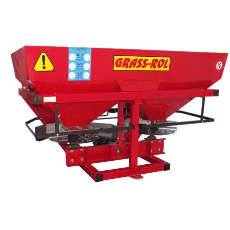 Twin disc fertilizer spreader 800
