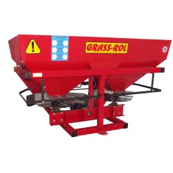 Twin disc fertilizer spreader 1000